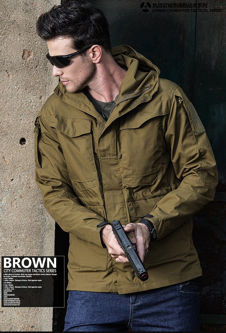 Military Tactical Waterproof Jackets For Men