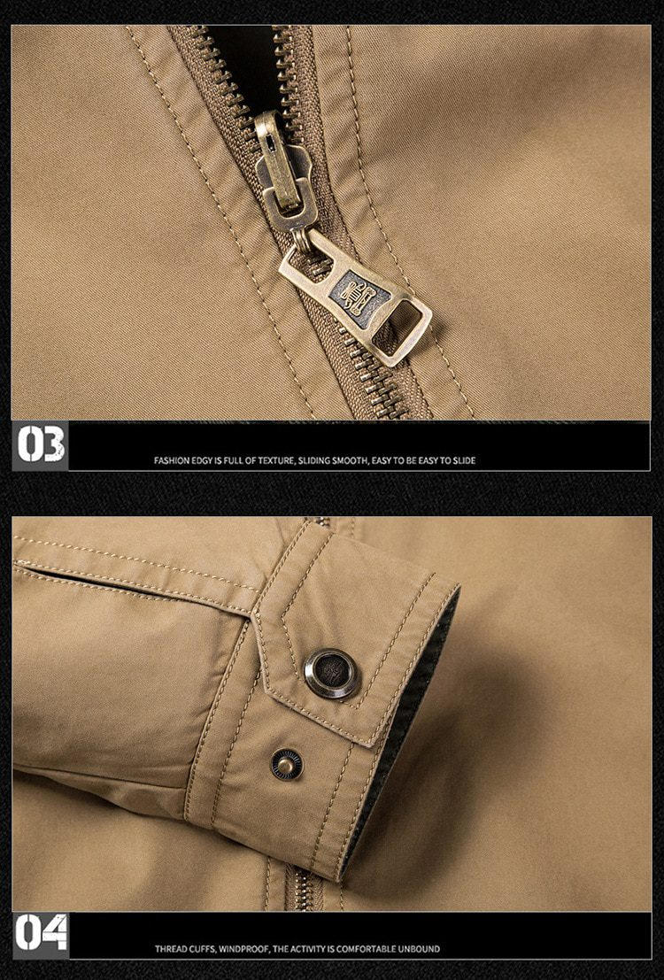 Business Double-sided Military Jacket